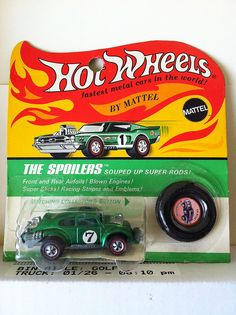 HK Green Evil Weevil BP - car is mint, card is in near mint condition! Price: $350.00