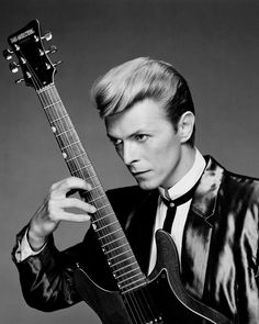 David Bowie - Black and White Photography