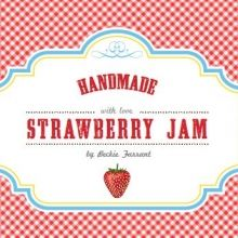 Free label for Strawberry Jam