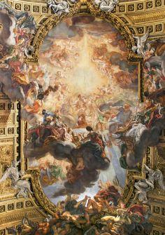 Giovanni Battista Gaulli- Triunfo del Nombre de Jesús