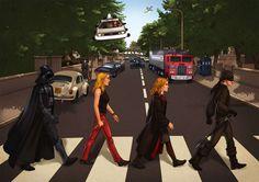 50 Alternative 'Abbey Road' Posters
