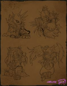 ArtStation - New sketches in 2016, Yare Yue