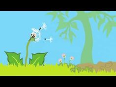 An animation for toddlers and preschoolers, about life in an Australian backyard. This sequence depicts the life cycle of a dandelion flower and is part of an on-going series by Life for Beginners. Music and sound design Mark Johnson.    www.beginnertime.com