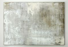 hetart: grey white composition - 140 x 100 x 4 cm, mixed media on canvas - CHRISTIAN HETZEL