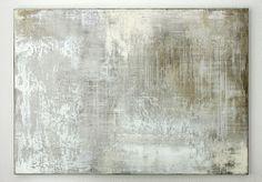 hetart:  grey white composition - 140 x 100 x 4 cm, mixed media on canvas - CHRISTIAN HETZEL