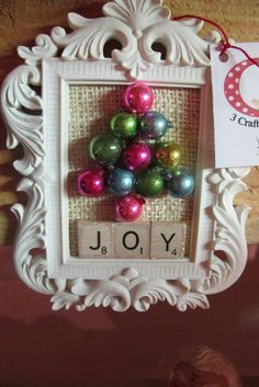 Love this idea, only on a bigger scale.3 Craft Chicks