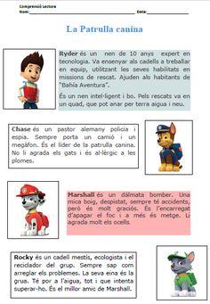 COMPRENSIÓ LECTORA AMB PERSONATGES ANIMATS | RECURSOS PER A L'EDUCACIÓ ESPECIAL