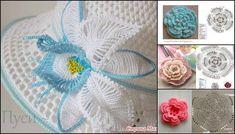 çiçek motif modelleri ve yapılışları