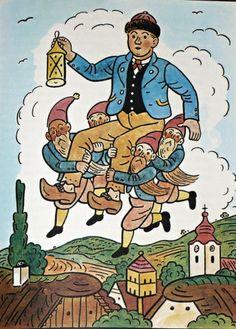 Bohemian Art, Elves, Childrens Books, Illustrators, Folk Art, Fairy Tales, Art Drawings, The Past, Horror