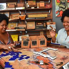 Afro-Cuban twins Yvette and Yvonne Rodriguez launched their cigar line last year to honor their grandmother.