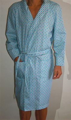 Mens Robe. Mens Bathrobe. Men s Smoking Jacket. Men s Lounge Wear. Mens  Pajamas 006841632