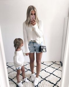 Future daughter, future baby, mommy and me outfits, kids outfits, mom and. Mom And Baby Outfits, Mother Daughter Matching Outfits, Mother Daughter Fashion, Family Outfits, Mom Daughter, Girl Outfits, Fashion Kids, Baby Girl Fashion, Outfits Madre E Hija