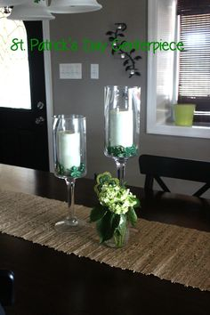 St. patricks Day centerpiece