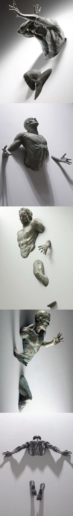 SCULPTOR MATTEO PUGLIESE DEFTLY IMBUES HIS WORK WITH A RANGE OF HUMAN EMOTION. PUROLOVER PINTEREST