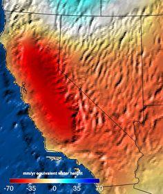 Needed: 11 Trillion Gallons to Replenish California Drought  splash