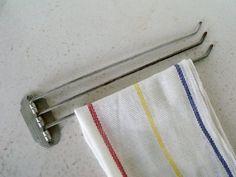 Vintage Kitchen Towel Bar 3 Arm Swinging Hanger Metal Towel Hanger, Hanger  Hooks, Towel
