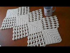 تعليم الكروشية :مفرش كروشية سهل للمبتدئين خطوة بخطوة -crochet easy doliy #يويو كروشية# - YouTube