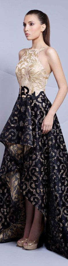Read More About Tarek Sinno couture Lovely Dresses, Beautiful Gowns, Elegant Dresses, Beautiful Outfits, Celebridades Fashion, Evening Dresses, Prom Dresses, Dresses 2016, Mode Glamour