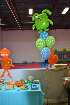 Little Monsters Birthday Party Ideas | Photo 3 of 9