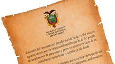 Certificado • Consulado Equatoriano Certificate