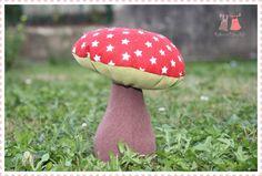 champignon en tissu / fabric mushroom