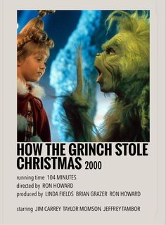 How the grinch stole Christmas by Millie