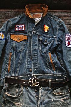 Tall Men Fashion, Denim Fashion, Love Jeans, Jeans Style, Estilo Denim, Denim Jacket Men, Boys Shirts, Vintage Denim, Menswear