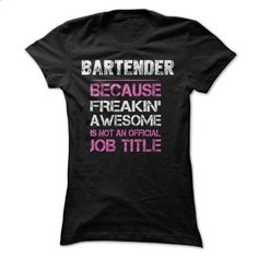 Awesome Bartender Shirt - #tee ideas #hoodie jacket. CHECK PRICE => https://www.sunfrog.com/Funny/Awesome-Bartender-Shirt-6r0j.html?68278