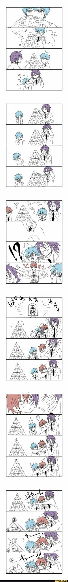 Kuroko, Murasakibara & Akashi | KnB