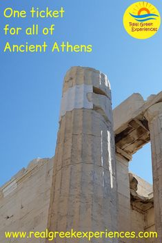 Are you confused with the monuments in Athens? Our guide helps you get the most value out of the Ancient Athens combined ticket, for the Acropolis and other archaeological sites in Athens. Mykonos Greece, Crete Greece, Athens Greece, Santorini, Greece Vacation, Greece Travel, Athens Acropolis, Greek Isles, Greece Islands