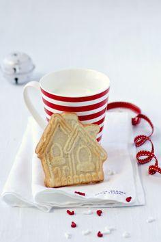 wholekitchen: Galletas casitas de canela. Recetas de Navidad