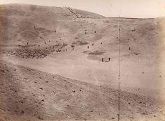 Campo de Batalla de San Juan (imagen posterior al 13 de enero de 1881). Estudio Courret. Fuente: Biblioteca Nacional de Chile.