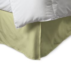 Egyptian Cotton 300 Thread Count Solid Bedskirt