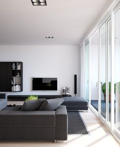 10 Best Minimalist Living Room Designs That Make You Be at Home - Interior Ideas Modern Minimalist Living Room, Minimal Living, Minimalist Furniture, Minimalist Interior, Minimalist Home, Modern Interior Design, Modern Living, Contemporary Interior, Simple Living