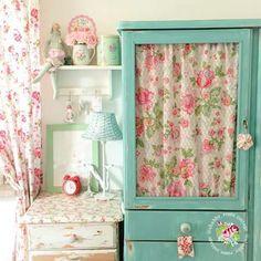 mueble armario mesita Shabby style