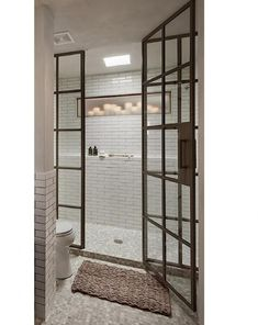 Take a look at some of our custom glass shower doors and tub enclosure installations we have done for previous customers. Contact us for any questions or request a quote on custom glass shower and tub enclosures. Bathroom Window Glass, Bathroom Windows, Bathroom Interior, Design Bathroom, Tub Enclosures, Shower Enclosure, Bad Inspiration, Bathroom Inspiration, Interior Inspiration
