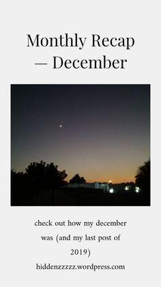 December, About Me Blog, Landscape