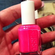 Essie! Have this color too and it was a perfect summer pink!