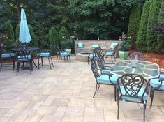 Exclusive Stoneworks created a beautiful outdoor living space with Cambridge Pavingstones, Cambridge Seating Wall and a Cambridge Fire Pit. Cambridge Pavers, Job Pictures, Wall Seating, Paving Stones, Outdoor Living, Outdoor Decor, Landscape Walls, Wall Colors, Living Spaces