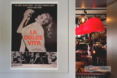 L'Osteria Decoration I Italian movie poster