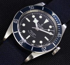 Tudor Heritage Black Bay Blue Watch Review