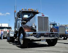 Old School Custom Semi Truck - Bing Images