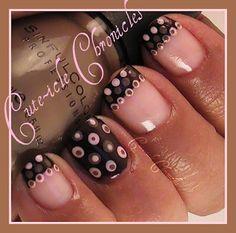 Dotty nails...