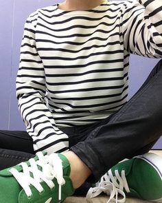 MIX TIP 데이 컬러 스트라이프 티셔츠 10,000원 2장구매시 17,000원 #믹스엑스믹스 #mixxmix #TIP #트윈룩 #데일리룩 #style #pretty #ootd #fashion #dailylook #daily #outfit #girl #simple #lovely #girlfriend