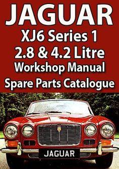 4.2 ltr Saloon,Coupe Factory Workshop Manual Jaguar XJ6 Series 2 1973-1979 3.4