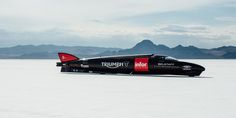 Soaring to dizzying speeds Triumph Motocycles have broken their land speed record. Read the full story here