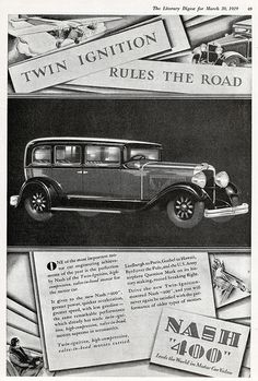 1929 Nash 400 Advanced Six Seven Passenger Sedan