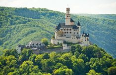 Marksburg Castle, Braubach, Germany (only Middle Rhine castle never destroyed)