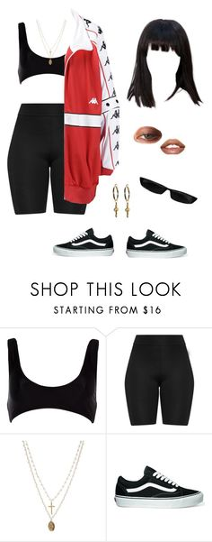 """""""👹"""" by baaby-dooll ❤ liked on Polyvore featuring River Island, ASOS and Vans"""