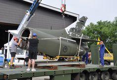 Skyhawk restoration | 27 Oct 2011. #Skyhawk #MOTAT #NZ #Aviation #Planes www.motat.org.nz